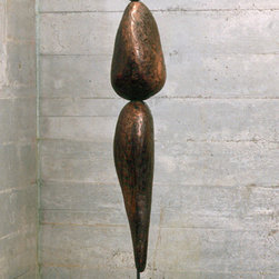 Rock Form 02 - Steel and Copper