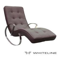 Whiteline Christiane Rocker Chaise - Whiteline Christiane Rocker Chaise
