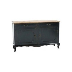 Sideboard Distressed Black Dining Buffet - Oh so sexy buffet.