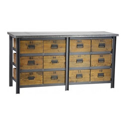 Industrial Chic Jacks Dresser - Industrial Chic Jacks Dresser