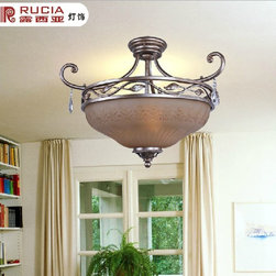 Antique Inspired Flush Mount with 3 Lights - Specifications