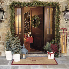 Traditional Outdoor Holiday Decorations by Ballard Designs