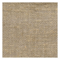 "Drapery Street - Burlap Way Drapery Panel, Natural,  104"" long,  designer ruched pleat - A Wonderful fabric that combines the texture of burlap with elegant colors and beautiful drape.  Available in 7 colors."