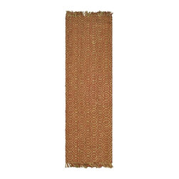 Safavieh - Natural Fiber Soft and Durable Sisal Rug (16 ft. x 2 ft. 6 in.) - Size: 16 ft. x 2 ft. 6 in. Traditional style. Power loomed. Soft and durable. Made from sisal. Rust color. Made in India. This densely woven rug will add a warm accent and feel to any home. The natural latex backing adds durability and helps hold the rug in place. Care Instructions: Vacuum regularly. Brushless attachment is recommended. Avoid direct and continuous exposure to sunlight. Do not pull loose ends; clip them with scissors to remove. Remove spills immediately; blot with clean cloth by pressing firmly around the spill to absorb as much as possible. For hard-to-remove stains professional rug cleaning is recommended.