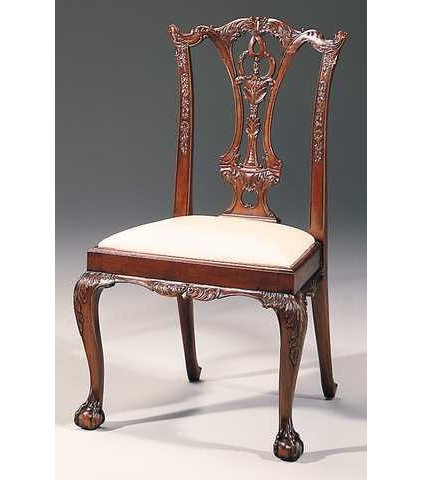 Traditional Dining Chairs by Crosskeys Antiques