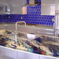Modern Kitchen Countertops by The Tile Company