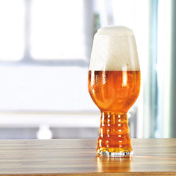 Crystal of America/Spiegelau - Spiegelau Craft Beer IPA Glasses, Set of 2 - Do better by your brew! Pour your potable of choice into these rib-bottomed beer glasses for an experience more stylish than any stein.