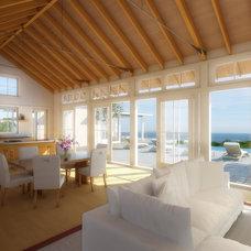 Beach Style  by Aquidneck Properties