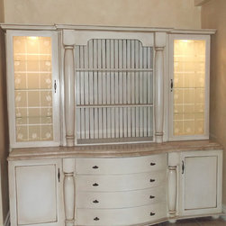 Shabby chic cabinetry - Nico's Kitchens