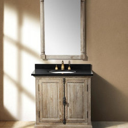 "35.5"" Alvito Single Bath Vanity - Driftwood -"