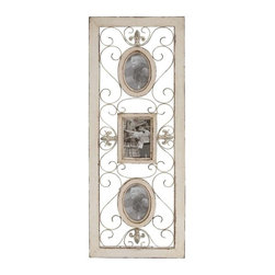 """Benzara - Country Style Wood Wall Photo Frame - Country style wood wall Photo Frame 13""""W, 36""""H. The perfect choice to display your happiest moments, this wood wall photo frame will accentuate the decor of your interiors with its unique design. The dimensions of the wood wall photo frame are 13W x 1D x 36H. Some assembly may be required."""