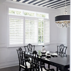 "Smith and Noble Poly Shutters - Shutters have long been considered the ""best of the best"" in window coverings, prized for their warmth, architectural beauty, and the enduring value they add to any home. Starting $29 Per Square Foot"
