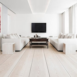 Solid Hardwood - A clean and simple look with wood flooring - Foundation Floors
