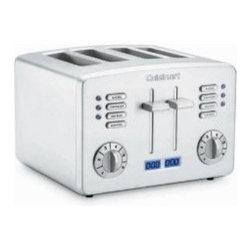 Cuisinart CPT-190 Brushed Stainless Steel 4-Slice Toaster -