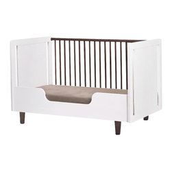 Oeuf - Rhea Crib Conversion Kit, By Oeuf - It may be emotionally hard on Mom and Dad to transition baby to a toddler bed, but with the help of this modern conversion kit, at least the physical transition won't be a challenge. The sustainably sourced wood and nontoxic paint make this toddler bed/crib the safest place for your growing baby to sleep. Now if only that little one would sleep through the night.