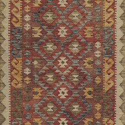 """Momeni - Momeni Tangier TAN-7, Red, 3'6""""x5'6"""" Rug - This Hand Made rug would make a great addition to any room in the house. The plush feel and durability of this rug will make it a must for your home. Free Shipping - Quick Delivery - Satisfaction Guaranteed"""