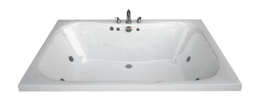 Spa World Corp - Atlantis Tubs 4060NWL Neptune 40x60x23 Rectangular Whirlpool Jetted Bathtub - The Neptune encompasses a cutting edge design, it's smooth contours embrace you tight while having an ample bathing area. The Neptune can effortlessly accommodate two, while still offering all the luxuries of a peaceful spa experience. Lay back, relax and enjoy the massaging jets while the contours of the bathing interior caress your body.