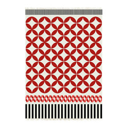 Gandia Blasco - Catania Wool Kilim Rug - Gandia Blasco - All of the modern rugs by Gandia Blasco are Goodweave certified and the perfect addition to any room in your home. Yarn composition: 100% new Wool. Designed by Sandra Figuerola.