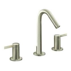 KOHLER - KOHLER K-942-4-BN Stillness Widespread Lavatory Faucet - KOHLER K-942-4-BN Stillness Widespread Lavatory Faucet in Brushed Nickel