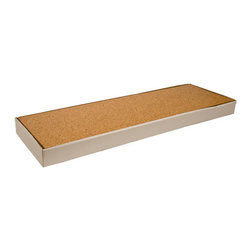 The Felt Store - Cork Floating Floor 35.8 x 11.81 x 0.41 Inch (910X300X10.5mm) - 6 Pcs Per Box - The Cork Floating Floor is a natural and contemporary option for your home and office. The floating floor is an easy to install interlocking system that can simply snap together like most laminate flooring. Cut the tiles to size, interlock the pieces for a quick and easy flooring system that is functional and beautiful. Using real, natural cork, is a great alternative to wood, ceramic tiles and vinyl. The surface is smooth and sealed to protect the cork and natural aesthetic. This makes the floor water resistant, preventing mold or mildew. Cork flooring is light, has give and has insulating properties. The give allows for greater bounce in your step, which helps those with joint, knee and back problems. The insulation will allow the cork to remain at a moderate temperature at all times. Cork is also know