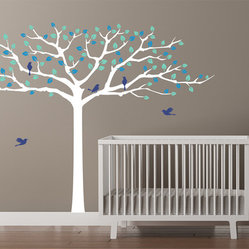 Rockabye Treetop Nursery Decal