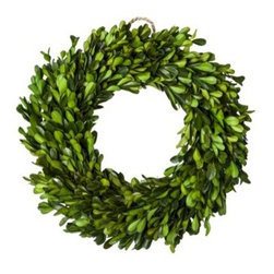 Smith & Hawken Boxwood Wreath - Not only do I love boxwood, but it makes for the perfect year-round wreath.