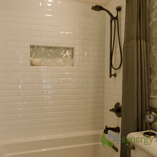 Traditional Bathroom by Synergy Builders Inc.
