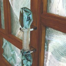 Milici Studios - Stargate Door Handle - Multidimensional, Layered Glass in Custom Entry Door