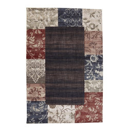 "American Rug Craftsmen - Dryden Garden District Multi Transitional Border 3'6"" x 5'6"" American Rug - Our Dryden Collection is the ultimate combination of style, comfort and durability. This collection impresses those who demand fashionable style with patterns including: tribal kilims, modern ikats, and Moroccan tile patterns. Made from our softest and most talked about fiber, SmartStrand, this collection is carefully crafted using 2-ply space dyed yarns, providing 24 shades of color. Every new SmartStrand area rug comes with a lifetime stain and soil warranty. Manufactured entirely in the United States, American Rug Craftsmen"