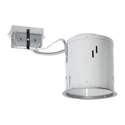 """Juno Lighting - PL618RE 6"""" Non-IC Remodel Housing - 18W Triple Vertical CFL - Housing only. Trim and bulb sold separately."""