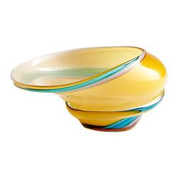 Cyan Design - Cali Bowl - Small - Small cali bowl - yellow