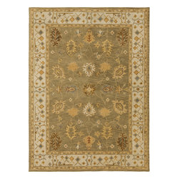 Artistic Weavers - Artistic Weavers Middleton Willow (Sage, Ivory) 6' Round Rug - This Hand Tufted rug would make a great addition to any room in the house. The plush feel and durability of this rug will make it a must for your home. Free Shipping - Quick Delivery - Satisfaction Guaranteed