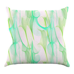 "Kess InHouse - Alison Coxon ""Swim II"" Throw Pillow (20"" x 20"") - Rest among the art you love. Transform your hang out room into a hip gallery, that's also comfortable. With this pillow you can create an environment that reflects your unique style. It's amazing what a throw pillow can do to complete a room. (Kess InHouse is not responsible for pillow fighting that may occur as the result of creative stimulation)."