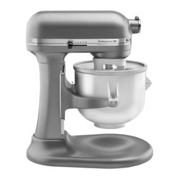 KitchenAid - KitchenAid KICA0WH Ice Cream Maker Bowl - White - KICA0WH - Shop for Mixers Replacement Parts from Hayneedle.com! Be the hit of the next neighborhood picnic with the KitchenAid KICA0WH Ice Cream Maker - White. This attachment whips up a batch of soft ice cream or other frozen treats in no time and includes recipes to get you started. About KitchenAidFor over 80 years KitchenAid has been devoted to creating innovative cookware that inspires culinary excellence. From the original Stand Mixer first created in Troy Ohio this industry leader now offers a wide assortment of cookware bakeware kitchen accessories and appliances. All products are designed with your cooking needs in mind and are engineered to exceed the highest manufacturing standards. Since 1919 KitchenAid has been synonymous with quality and value. As a result all KitchenAid products are backed by exceptional industry-leading warranties. Check out the complete line today.