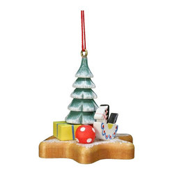 Alexander Taron - Christian Ulbricht Xmas Tree on Star Ornament Multicolor - 10-0562 - Shop for Holiday Ornaments and Decor from Hayneedle.com! Sure to be in your family for generations the Christian Ulbricht Xmas Tree on Star Ornament is a true example of German folk art. Simple yet perfectly detailed this ornament features a snow-dusted Christmas tree and toys on a star-shaped base. Each ornament is individually handcrafted in Germany and hand-painted to perfection by skilled artisans.About Alexander Taron Inc.For more than half a century the Taron Company has been delighting customers and collectors with traditional European gifts. These exquisite hand-crafted products range from nutcrackers and incense burners to ornaments and cuckoo clocks; unique and collectible they make unforgettable gifts regardless the occasion. Originally founded in 1949 Alexander Taron remains dedicated to providing high-quality items at great value.