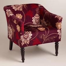 Nouveau Floral Charlotte Chair