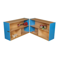 Wood Designs - Wood Designs 30H in. Folding Versatile Storage Unit - WD13130B - Shop for Childrens Toy Boxes and Storage from Hayneedle.com! About WDM Inc.For 30 years Wood Designs has put passion for the enrichment and safety of children into quality wooden early learning furniture. Dennis and Debbie Gosney the couple behind this labor of love have taken their 50 years combined experience in child development furniture manufacturing and built a company at the forefront of innovation and safety. Intuitive design coupled with novel safety features like Pinch-me-not hinges and Tip resistant furniture set Wood Designs apart from the typical early learning furniture manufacturers.