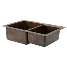 Rustic Kitchen Sinks by Lucido Copper