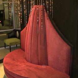Gables at Park 17 - Downtown Dallas - Oversized Custom Built Banquette for Park 17 - Downtown Dallas, Texas
