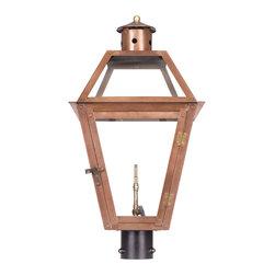 Elk Lighting - Elk Lighting 7934-WP Gas Post Lantern - Elk Lighting 7934-WP Gas Post Lantern