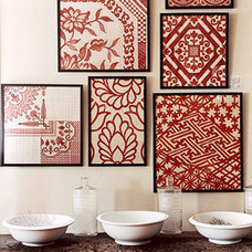 Decorate: Creative Ideas for Easy Framed Fabric Decor and Shopping Deals from Fa