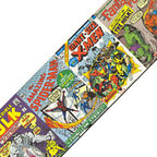 York Wallcoverings - Marvel Comics 15 Books Wallpaper Accent Border Roll - FEATURES: