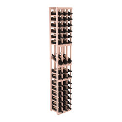 Wine Racks America - 3 Column Display Row Wine Cellar Kit in Redwood, White Wash - Make your best vintage the focal point of your wine cellar. High-reveal display rows create a more intimate setting for avid collectors wine cellars. Our wine cellar kits are constructed to industry-leading standards. You'll be satisfied. We guarantee it.