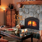 Heat & Glo Northstar Wood Fireplace - The Northstar exceeds the strictest environmental standards in the nation—so you can enjoy roaring fires even in areas where conventional wood-burning fireplaces are banned.