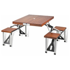 Contemporary Folding Tables by Elegant Picnic