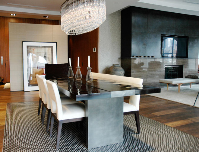 Modern Dining Tables by Aguirre Design