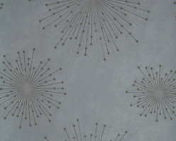 Kenneth James - Jetson Light Blue Starburst Wallpaper - Add bursts of beauty to your favorite setting. This wallpaper pattern pops, but subtle hues keep it from overpowering your decor.