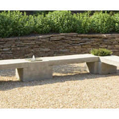contemporary outdoor stools and benches by Yard Art