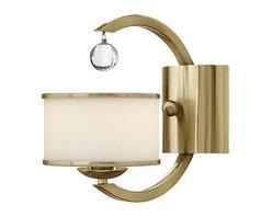 Hinkley Lighting - Hinkley Lighting 4850BC Monaco Brushed Caramel Wall Sconce - Hinkley Lighting 4850BC Monaco Brushed Caramel Wall Sconce