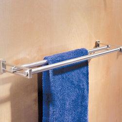Frame Double Towel Bar -